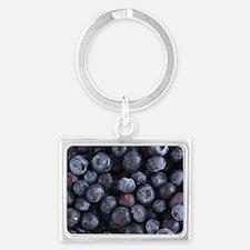 Blueberry Landscape Keychain