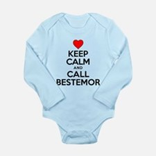 Keep Calm Call Bestemor Body Suit