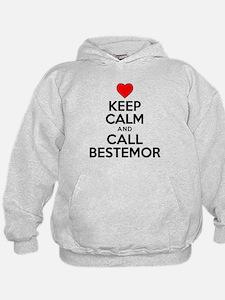 Keep Calm Call Bestemor Hoodie