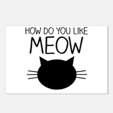 How Do You Like Meow Postcards (Package of 8)