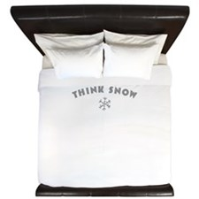 Think Snow King Duvet