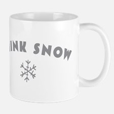 Think Snow Mugs