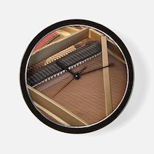 Inside a Piano Wall Clock