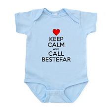 Keep Calm Call Bestefar Body Suit