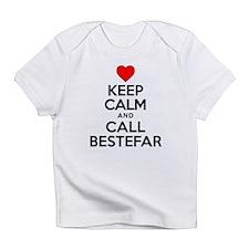Keep Calm Call Bestefar Infant T-Shirt