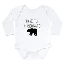 Time to Hibernate Body Suit
