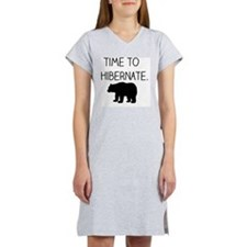 Time to Hibernate Women's Nightshirt