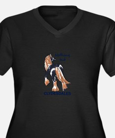 NOTHING BUT CLYDESDALES Plus Size T-Shirt