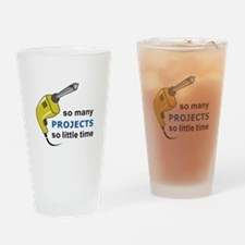 SO MANY PROJECTS Drinking Glass