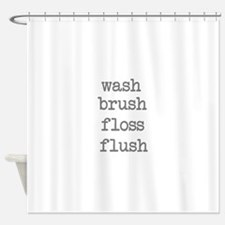 Cute Wash Shower Curtain