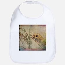 Parakeet With Grains - Bib