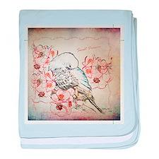 Sweet Dreams Parakeet - Baby Blanket