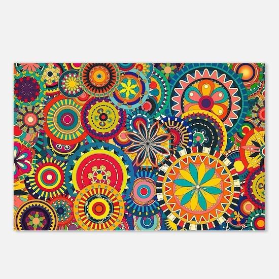 Unique Patterns Postcards (Package of 8)
