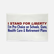 Stand for Liberty Refrigerator Magnet