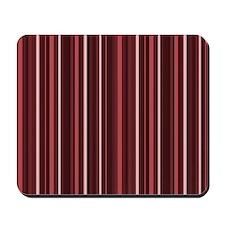 Marsala Stripes Mousepad