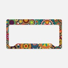 Cute Hobbies License Plate Holder