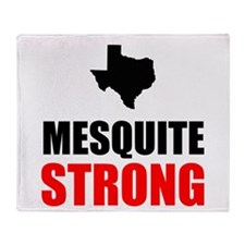 Mesquite Strong Throw Blanket