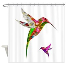 Humming Birds Shower Curtain