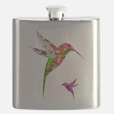 Humming Birds Flask