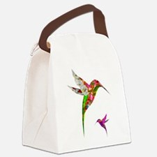 Humming Birds Canvas Lunch Bag