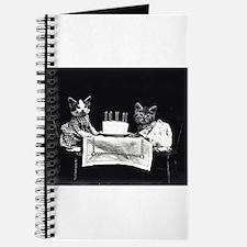 vintage birthday kittens lol cat Journal