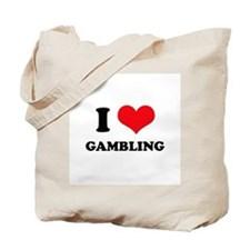 I Love Gambling Tote Bag