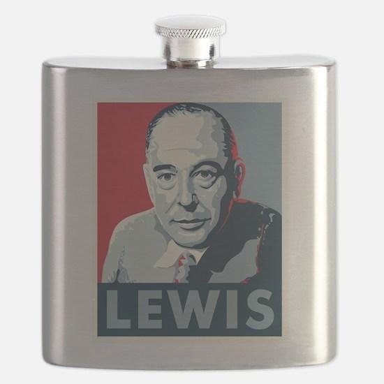 C.S. Lewis Flask