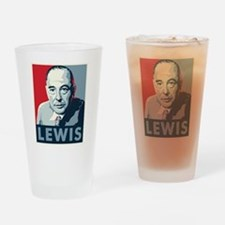 C.S. Lewis Drinking Glass