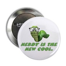 Nerdy is the new cool Button