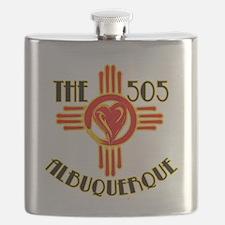 THE 505 ALBUQUERQUE LOVE Flask
