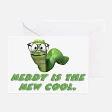 Nerdy is the new cool Greeting Cards (Pk of 10