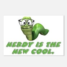 Nerdy is the new cool Postcards (Package of 8)