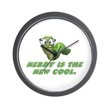 Nerdy is the new cool Wall Clock