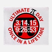 Ultimate Pi Day 2015 Throw Blanket