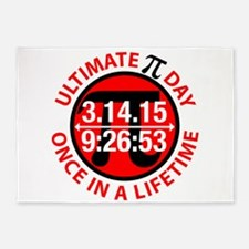 Ultimate Pi Day 2015 5'x7'Area Rug
