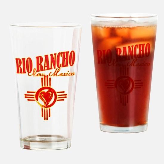 RIO RANCHO LOVE Drinking Glass
