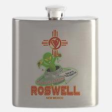 ROSWELL ALIEN LOVE Flask