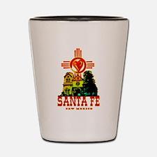 SANTA FE LOVE Shot Glass