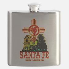 SANTA FE LOVE Flask