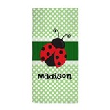 Lady bug Beach Towels