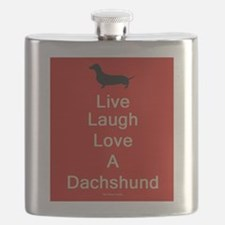 Unique Dachshund lovers Flask