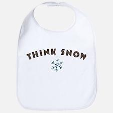 Think Snow Bib
