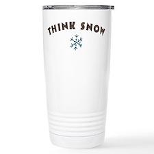 Think Snow Travel Mug