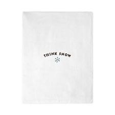 Think Snow Twin Duvet