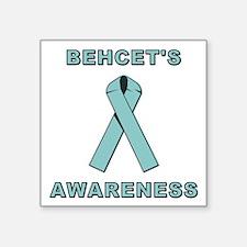 "BEHCET'S AWARENESS Square Sticker 3"" x 3"""