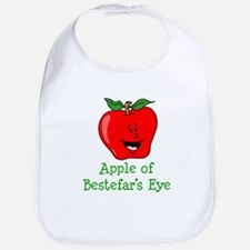 Apple of Bestefar's Eye Bib