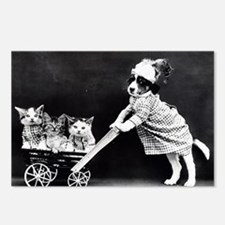 Funny Baby carriage Postcards (Package of 8)