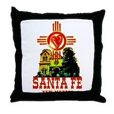SANTA FE LOVE Throw Pillow