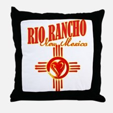 RIO RANCHO LOVE Throw Pillow