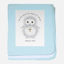 Be Not Afraid Matthew 28:20 baby blanket